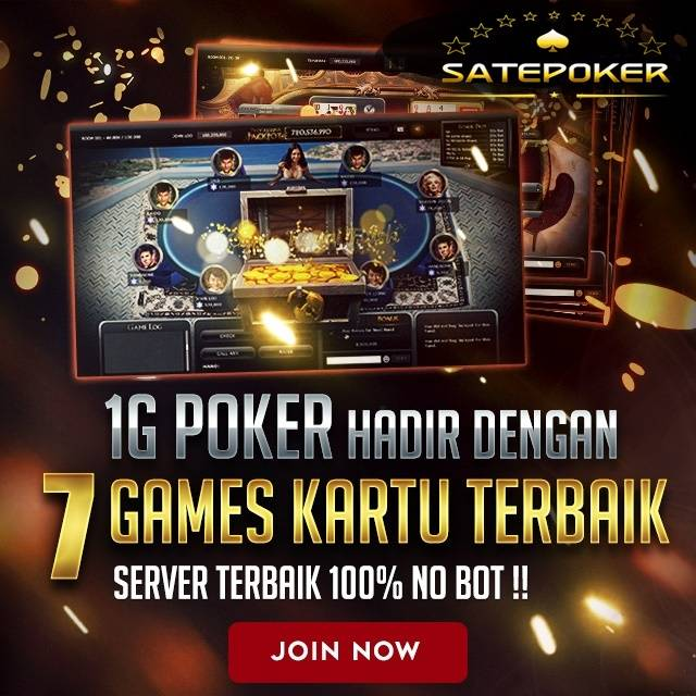 Agen Poker Terbaik Satepoker Indonesia - Sate Poker
